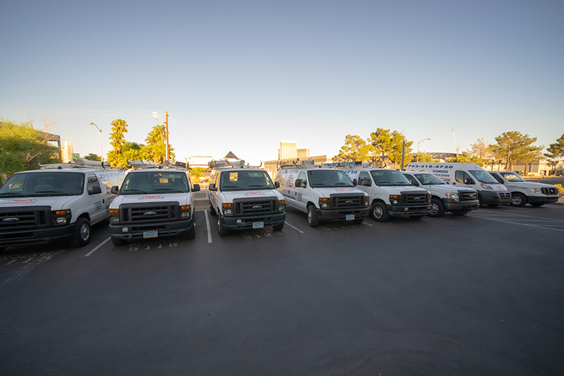 All State Service Group Vans